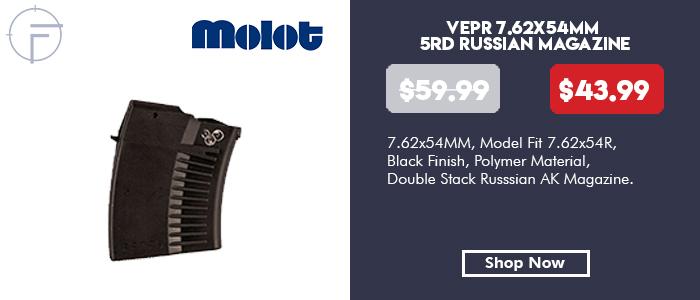 Molot Vepr 7.62x54mm Russian 5 Round Magazine